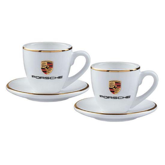 Picture of Porsche Crest Espresso Cup Set of 2