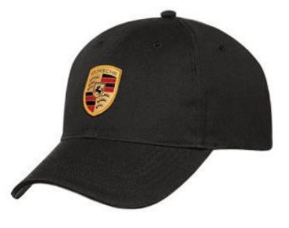Picture of Cap, Crest, Black