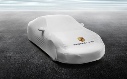 Picture of Indoor Car Cover 911 (991 II Turbo)