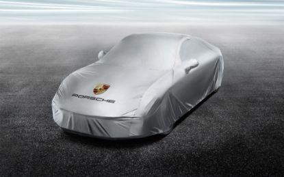 Picture of Outdoor Car Cover 911 (991 II Turbo)